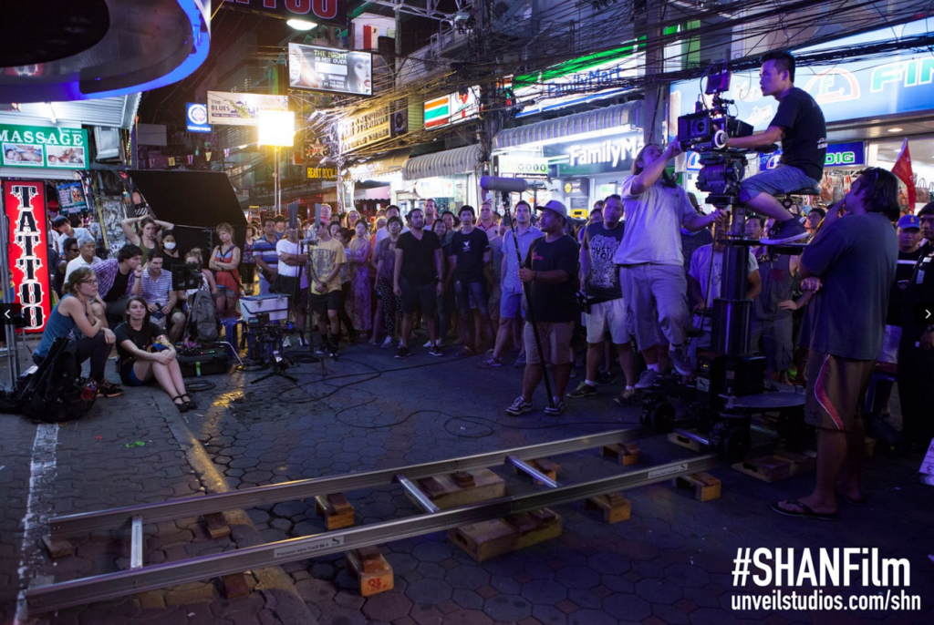 Filming She Has A Name in Pattaya, Thailand