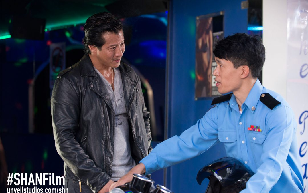 Will Yun Lee and Charlie Rudekop in She Has A Name